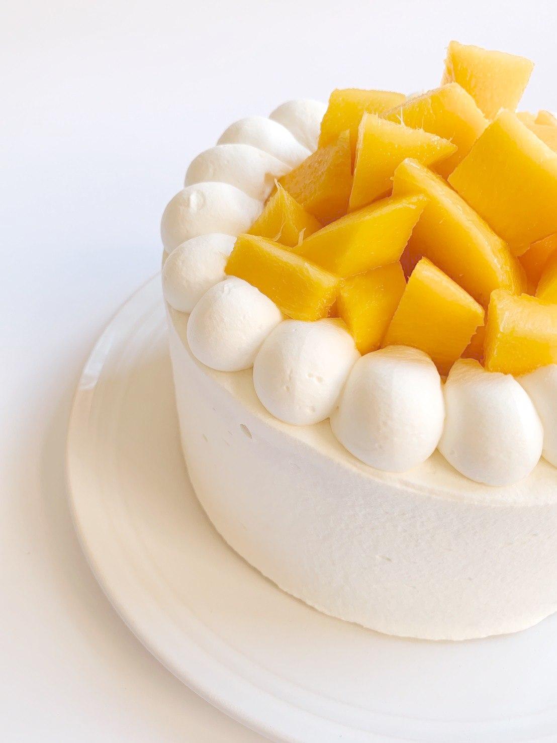 日本北海道進口鮮奶油芒果蛋糕